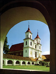 Tytuvėnai. Church of the Virgin Mary and the Bernardine Monastery